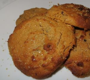 Malty, salty sweet n chewy cookies!